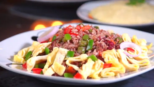 Ghanaian style Brown fried rice Recipe In Africa