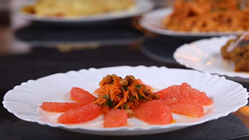 grapefruit salad recipe in Africa