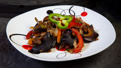 Stir Fried Snails